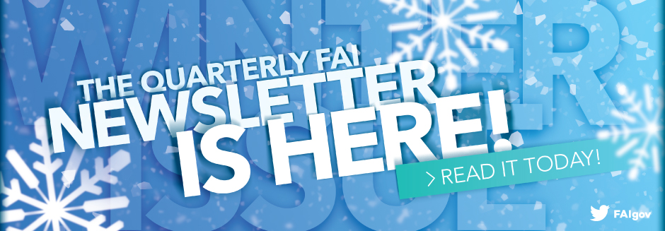 The FAI Winter Newsletter Is Here!