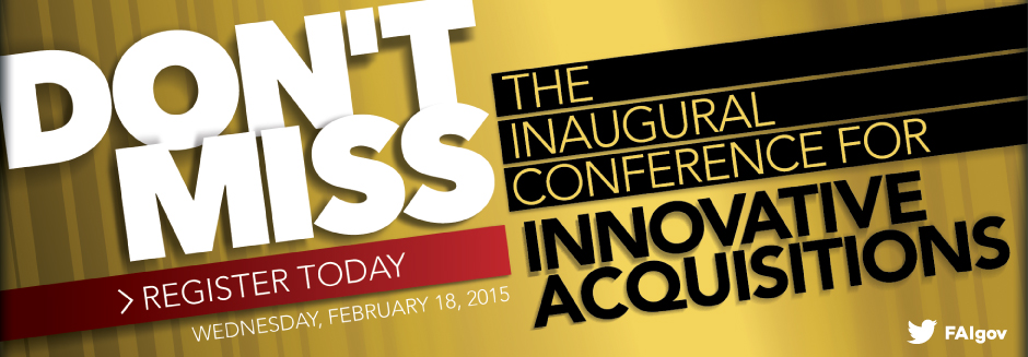 Inaugural Conference for Innovative Acquisitions