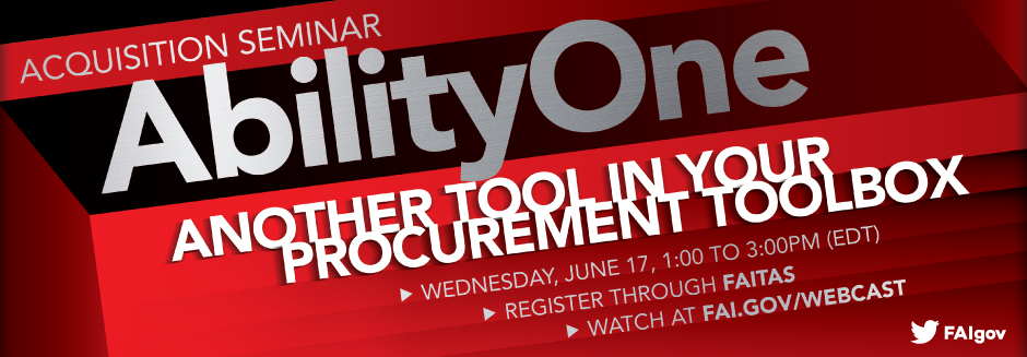 Upcoming Acquisition Seminar: AbilityOne