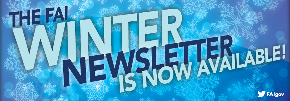 Read the FAI Winter 2016 Newsletter Now!