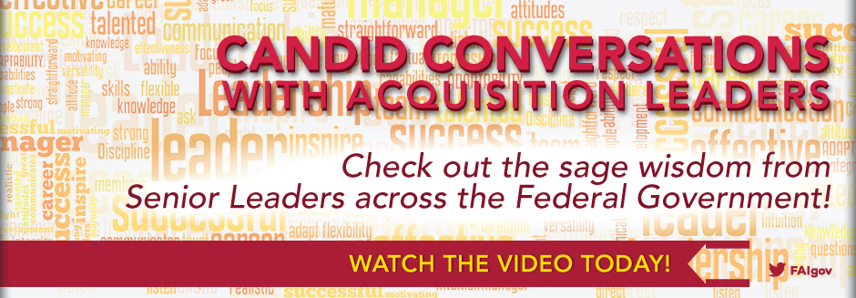 Candid Conversations with Acquisition Leaders