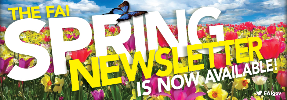 Spring 2017 FAI Newsletter Now Available!