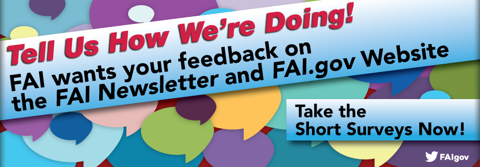 Tell FAI How We Are Doing!
