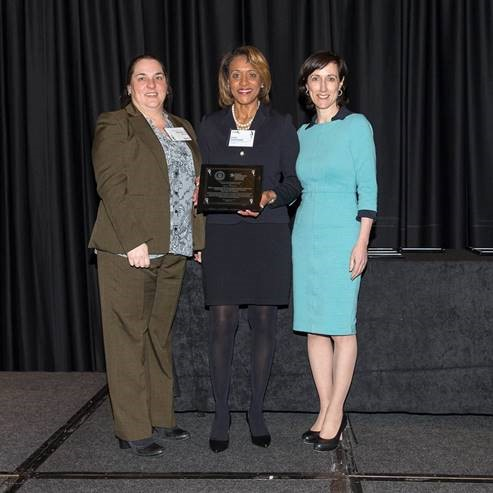 Small Business Excellence Award Winners- Cecilia Royster and Jo-Lynn Davis of NIST at DoC