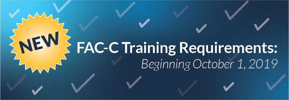FAC-C Training Requirements