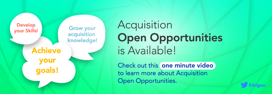 Acquisition Open Opportunities