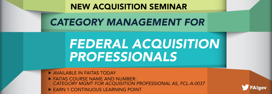 Category Management for Acquisition Professionals