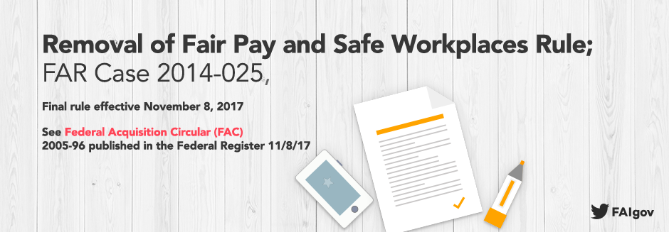 Fair Pay and Safe Workplaces